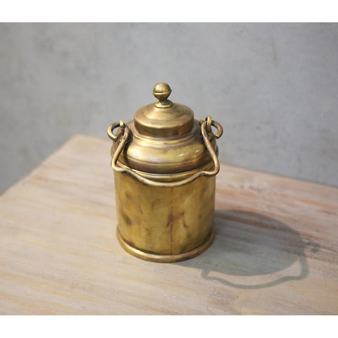 Antique Brass Barni