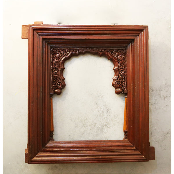 Carved Wooden Jharoka