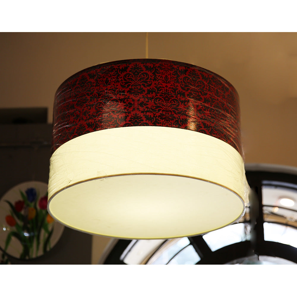Fabric Drum Light