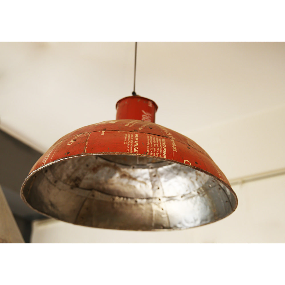 Recycled Tin Lamp