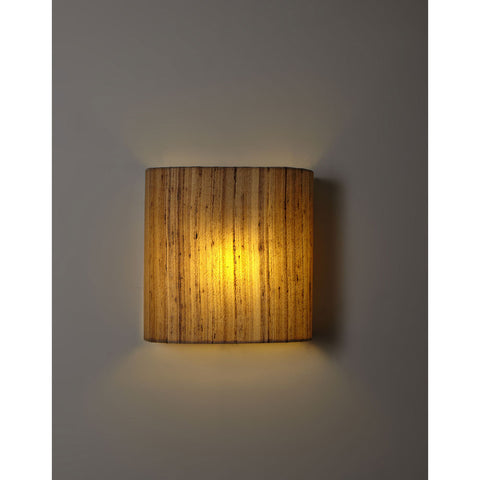 Fabric Wall Light