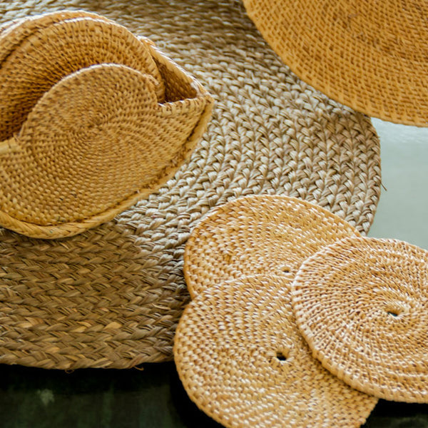 Sabai grass coasters