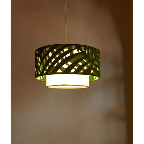 Palm Tree Doublet Ceiling Lights