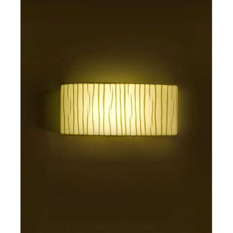Decorative Pleated Fabric Wall Light