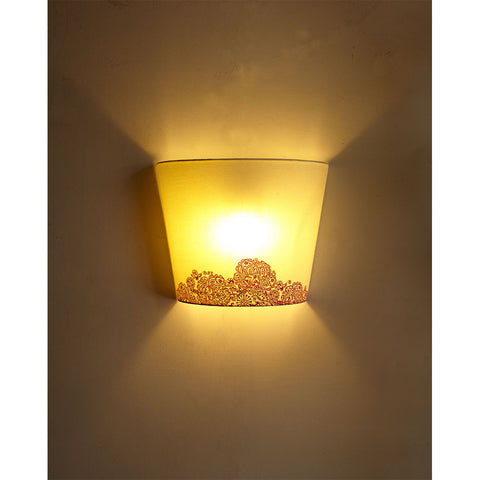 Rangoli Print Small Wall Light