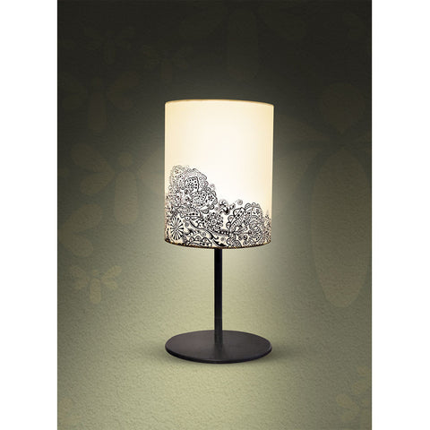 Rangoli Print Table Lamp