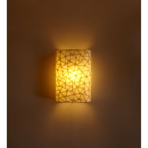 Decorative Recto Paper Wall Light