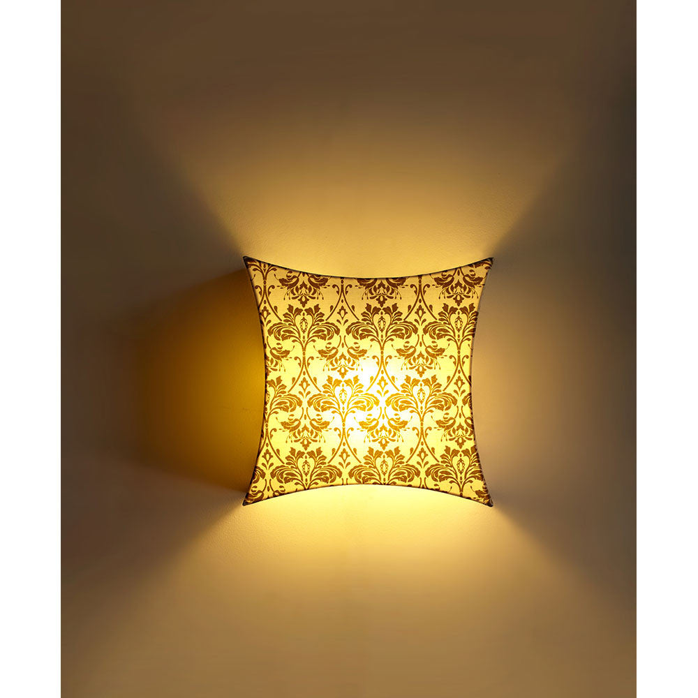 Star Fabric Printed Wall Light