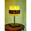 Waves Acrylic Table Lamp with Flower Band
