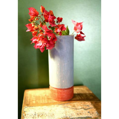 Wooden Plain Flower Vase