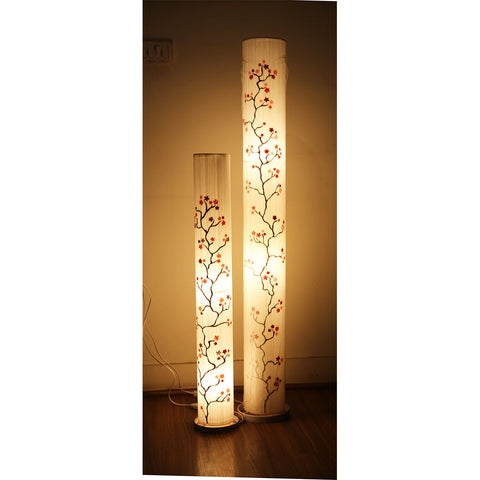 Cherry Design Thread Floor Lamp