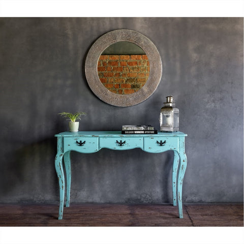 Vintage Console Table - Blue