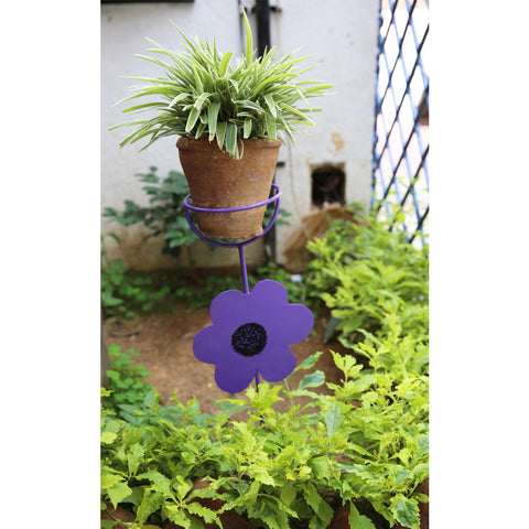 Flower Stick Pot Holder