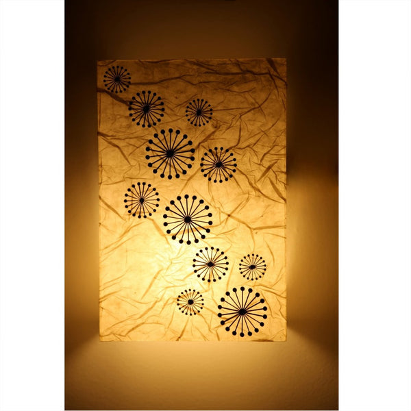 Acrylic Wall Light With Circular Design