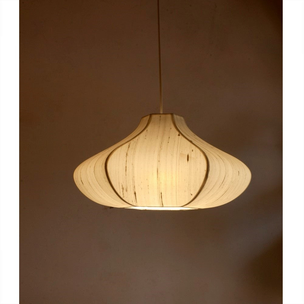 Onion Hanging Light- Off white