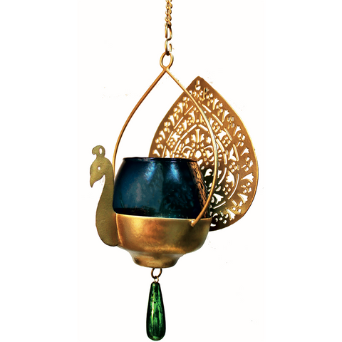 Peacock Hanging Light