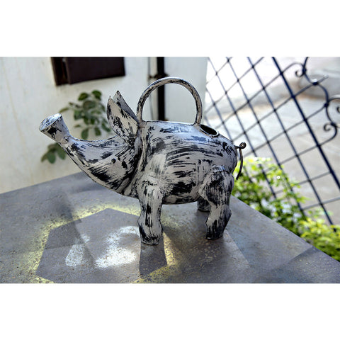 Piggy Watering Can - Gray