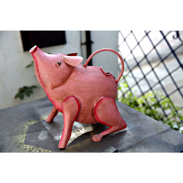 Piggy Watering Can - Pink