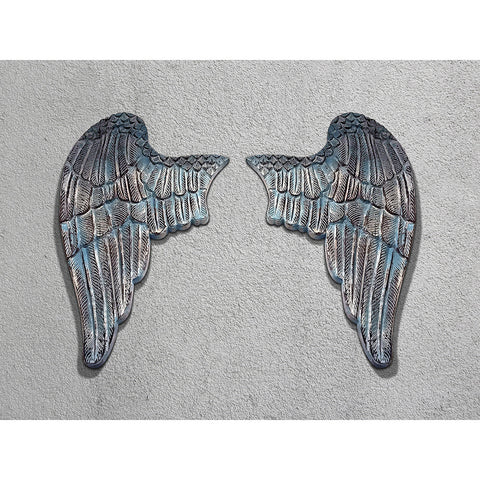 Vintage Wooden Angel Wings
