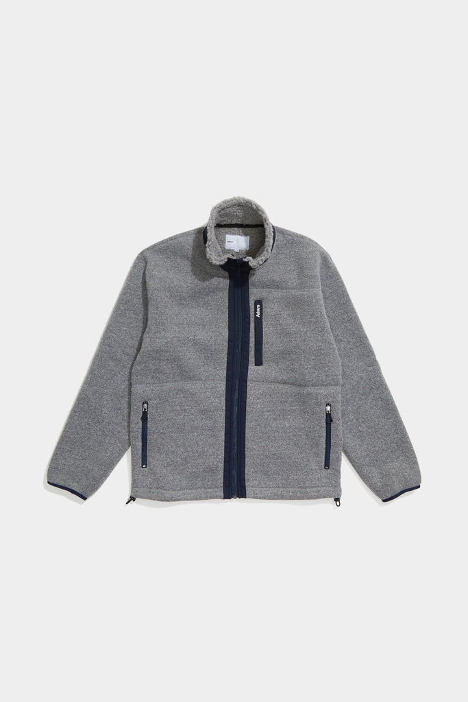 Adsum - Expedition Fleece - Grey & Navy - Northern Fells