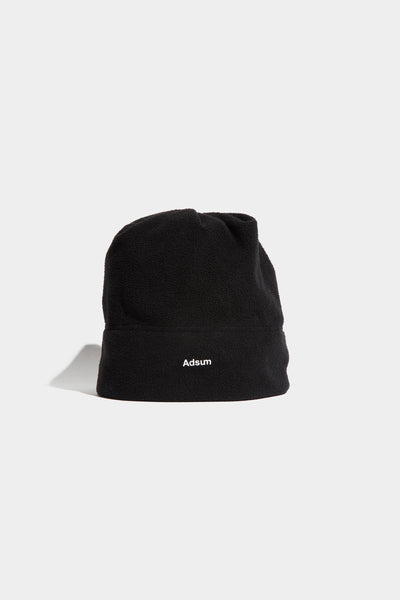 Adsum - Core Logo Fleece Beanie - Black