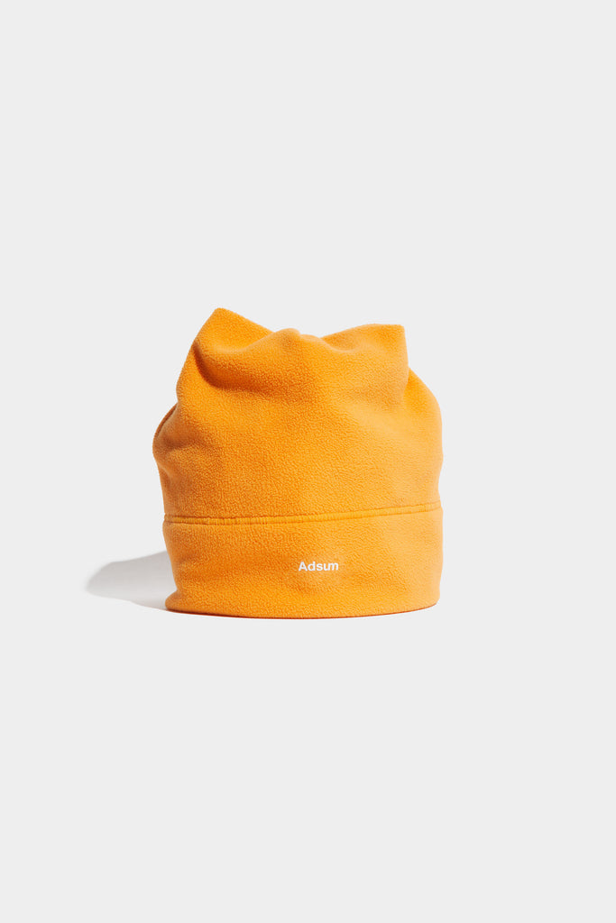 Adsum - Core Logo Fleece Beanie - Orangina - Northern Fells