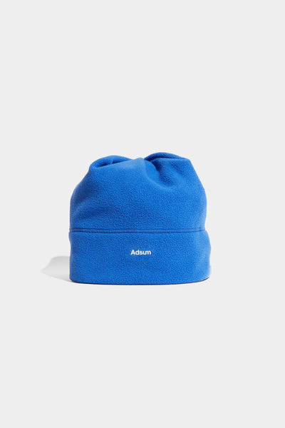 Adsum - Core Logo Fleece Beanie - Electric Periwinkle