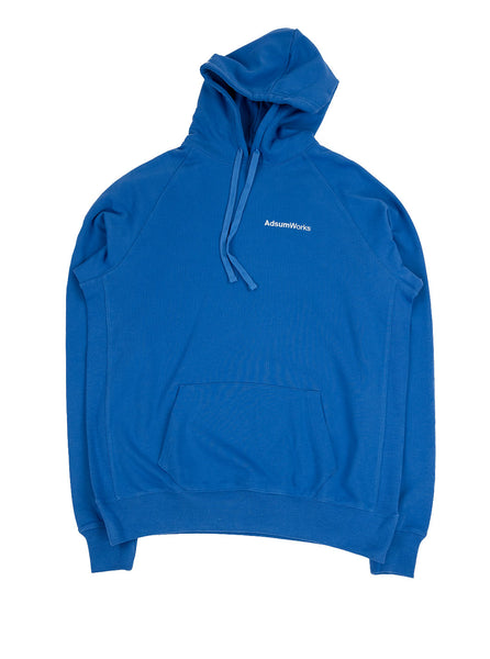 Adsum - AdsumWorks Hoodie - Bright Blue - Northern Fells