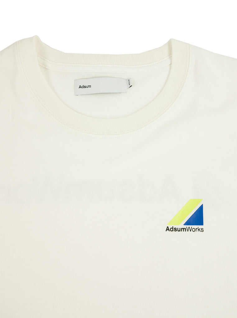 Adsum - AdsumWorks Tee - White - Northern Fells