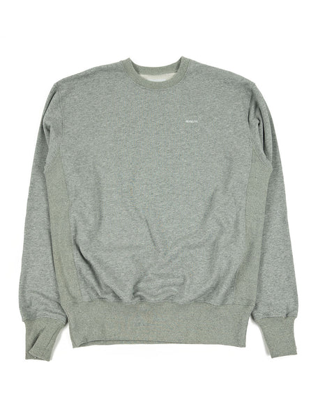 Adsum - B Logo Crewneck - Heather Grey - Northern Fells