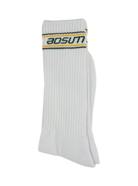 Adsum - B Logo Sock  - Green - Northern Fells
