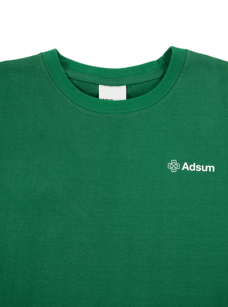 Adsum - Clover T-Shirt - Evergreen - Northern Fells