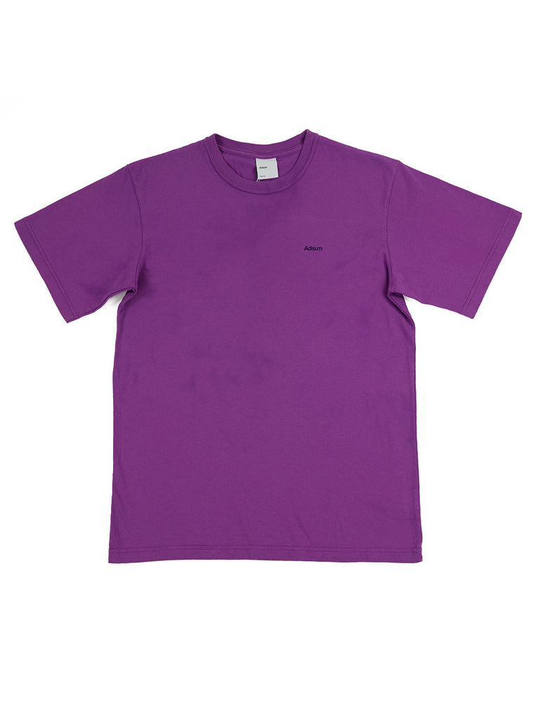 Adsum - Core Logo T-Shirt - Grape - Northern Fells