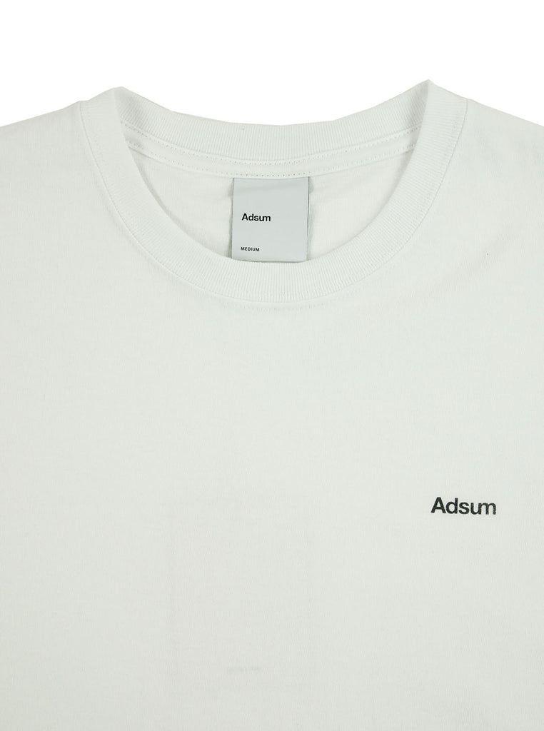 Adsum - Core Logo T-Shirt - Light Heather Grey/ Black - Northern Fells