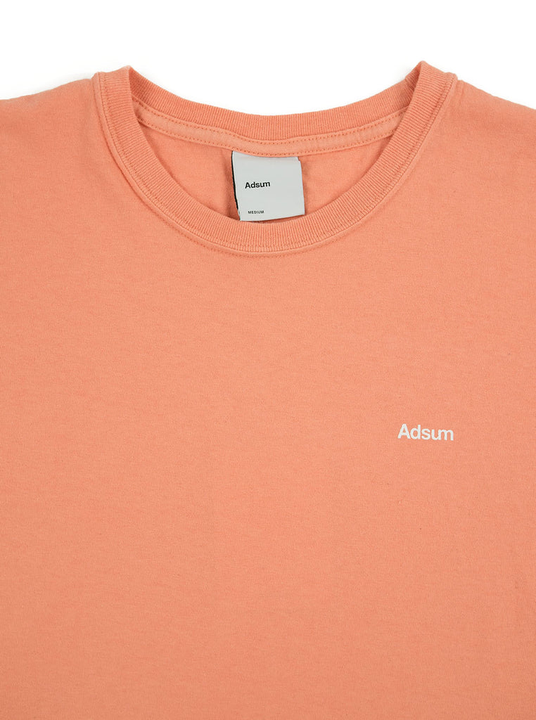 Adsum - Core Logo T-Shirt - Sherbet - Northern Fells