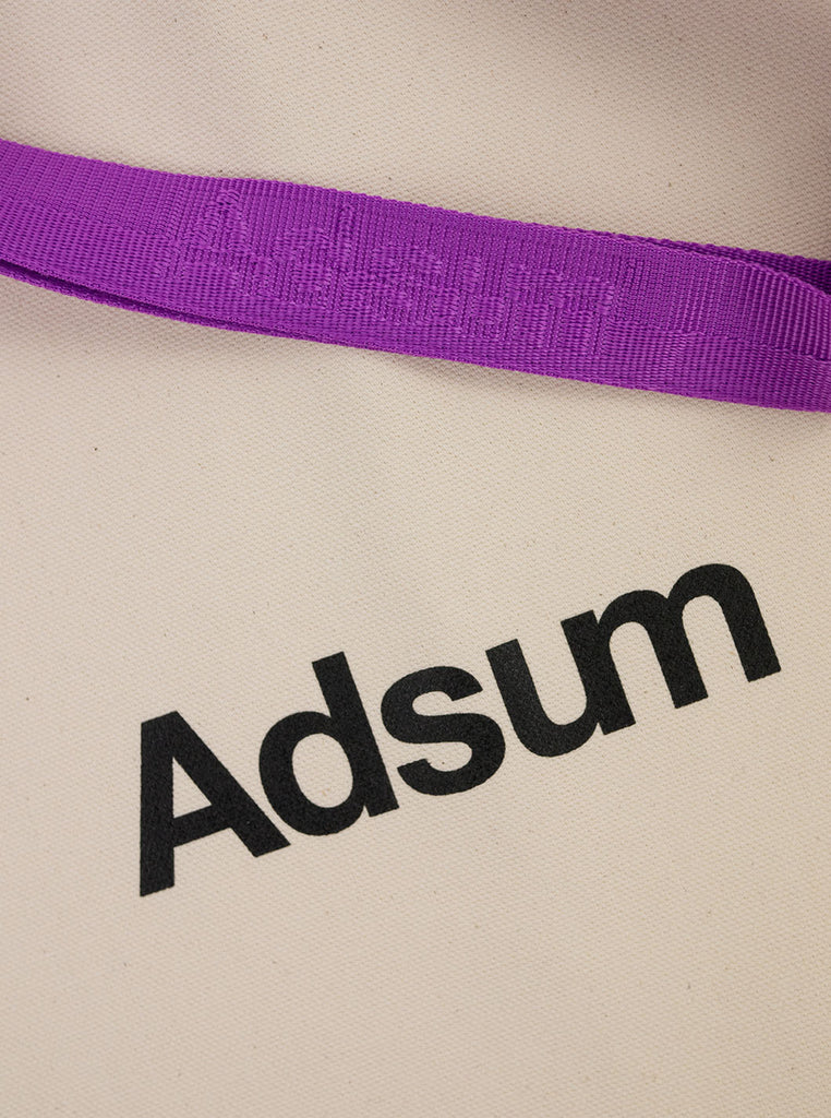 Adsum - Core Logo Tote Bag - Grape - Northern Fells