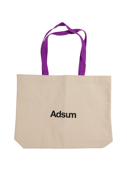 Adsum Core Logo Tote Grape The Northern Fells Clothing Company Full