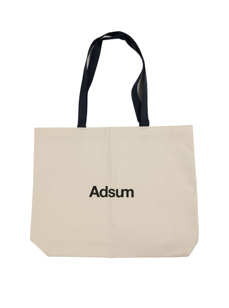 Adsum Core Logo Tote Navy The Northern Fells Clothing Company Full