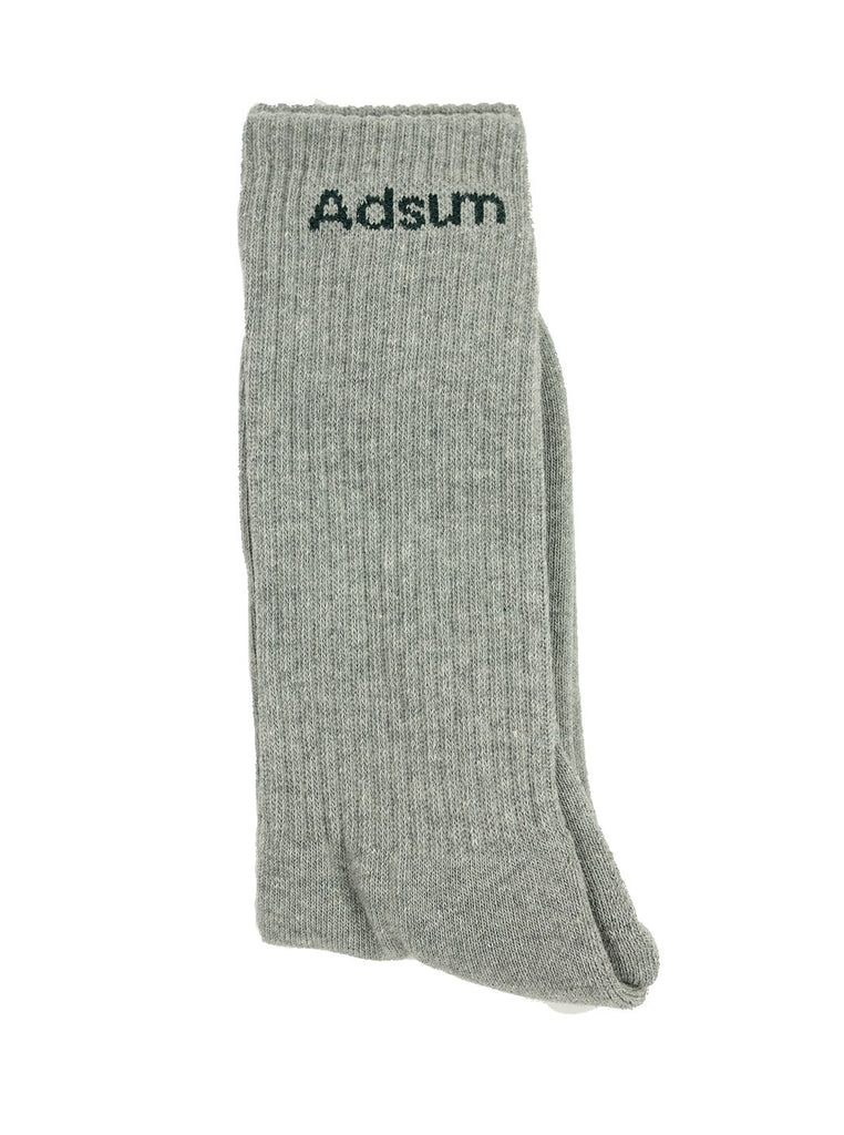 Adsum - Core Logo Sock - Grey - Northern Fells