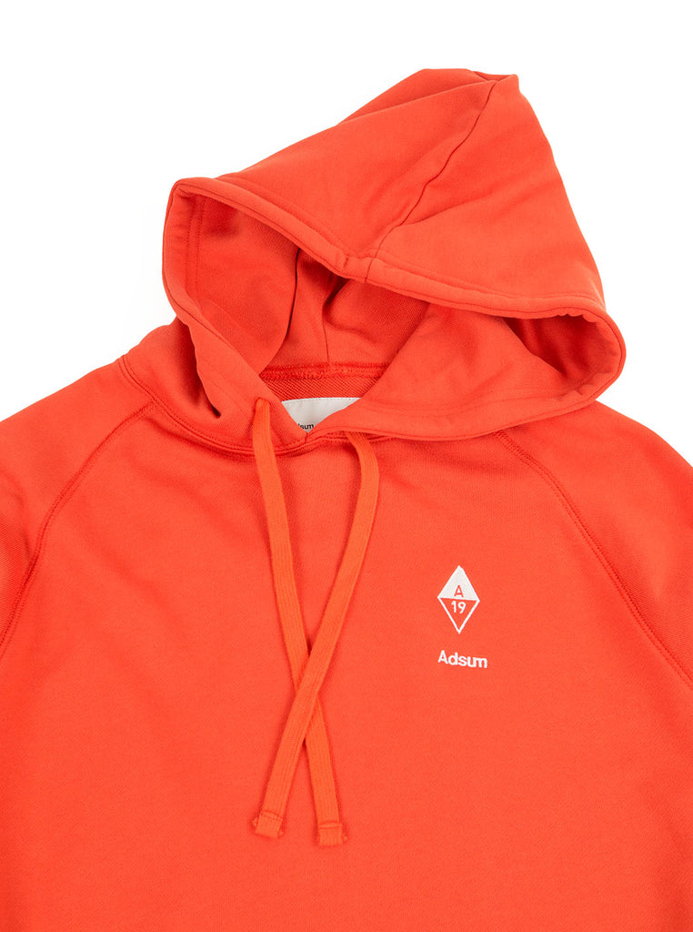 Adsum - Diamond Hoodie - Blood Orange - Northern Fells