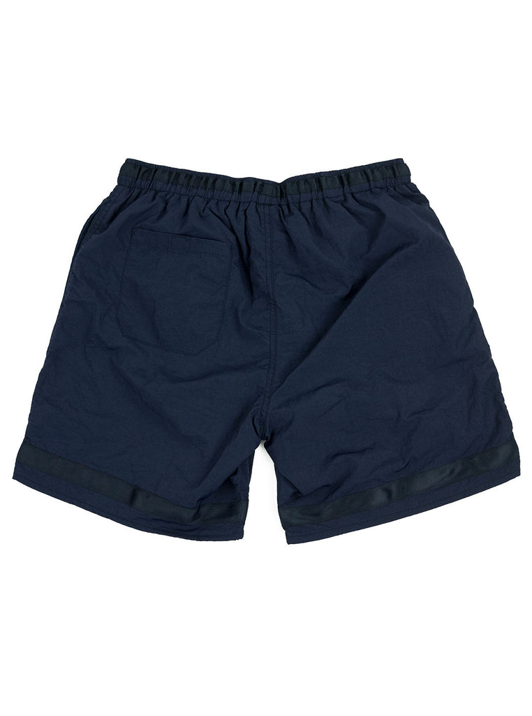 Adsum Effo Swim Short Dark Navy The Northern Fells Clothing Company Back