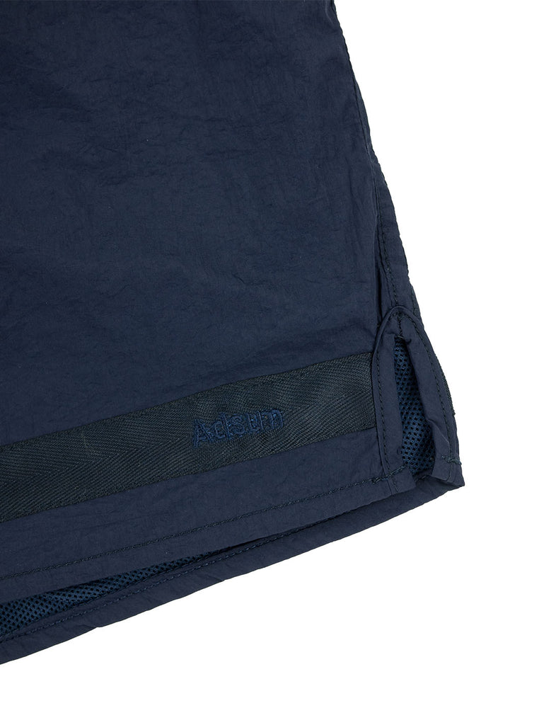 Adsum Effo Swim Short Dark Navy The Northern Fells Clothing Company Detail