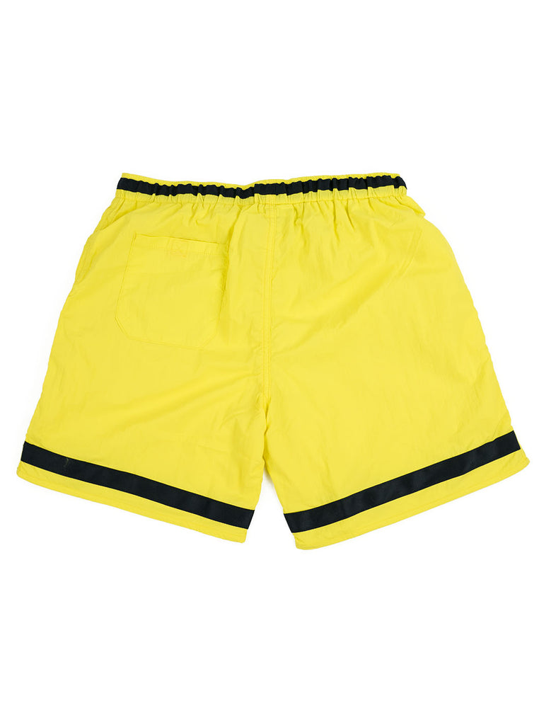 Adsum Effo Swim Short Lemon The Northern Fells Clothing Company Back