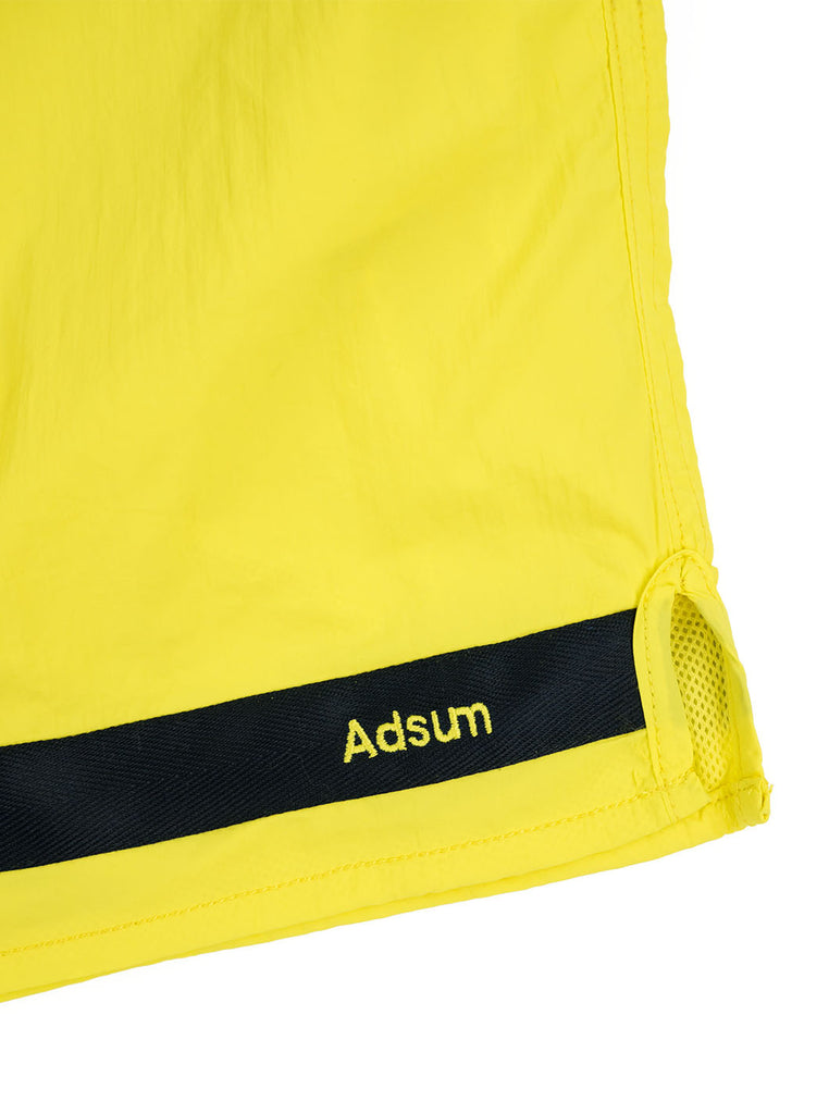 Adsum Effo Swim Short Lemon The Northern Fells Clothing Company Detail