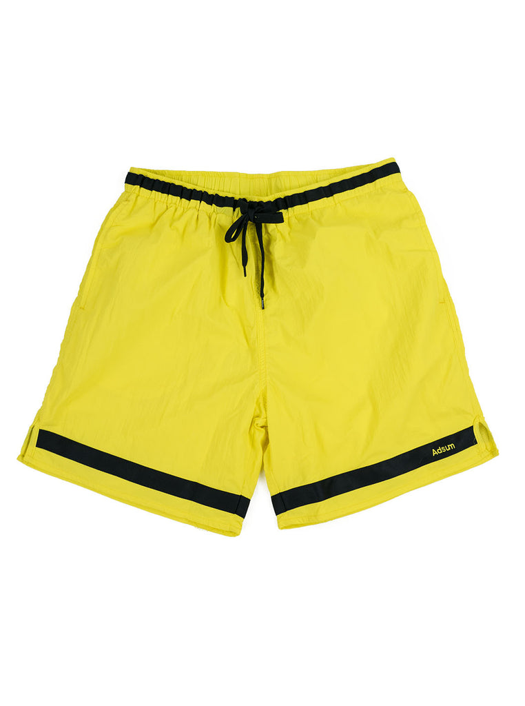 Adsum Effo Swim Short Lemon The Northern Fells Clothing Company Full