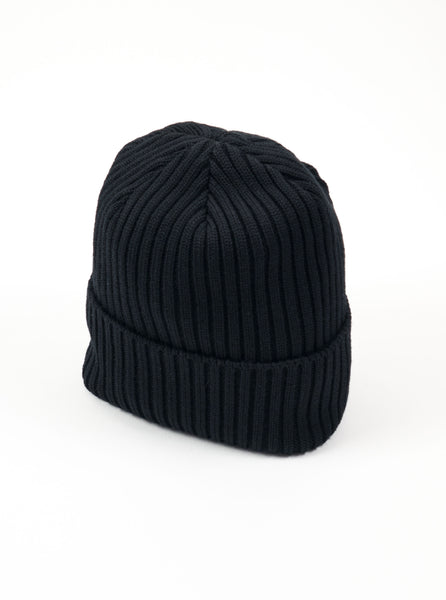 Adsum F17RBBL Ribbed Beanie Black The Northern Fells Clothing Company full