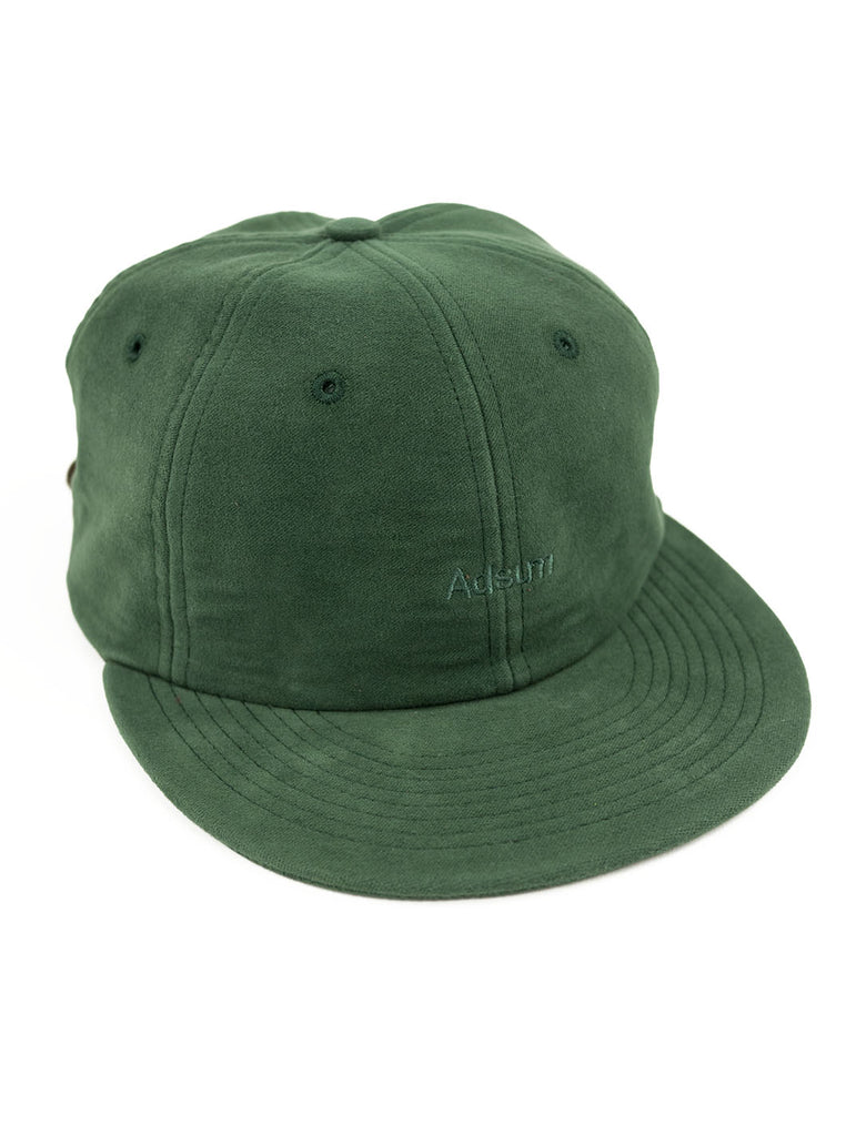 Adsum - Overdyed Moleskin Cap - Green - Northern Fells