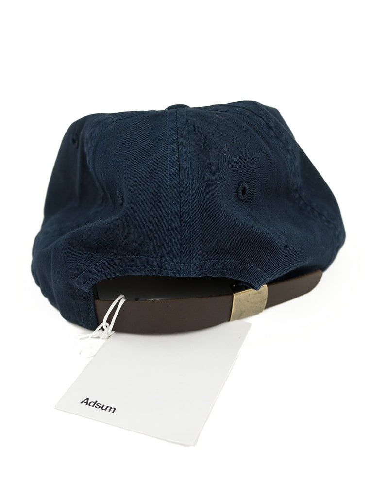 Adsum - Overdyed Twill Cap - Navy - Northern Fells