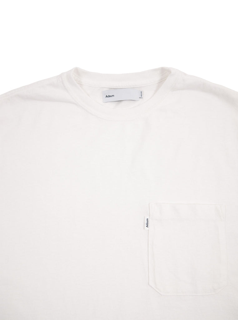 Adsum - Pocket T-Shirt - White - Northern Fells