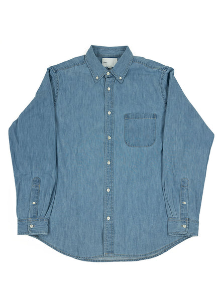 Adsum - Premium Buttondown Shirt - Denim - Northern Fells